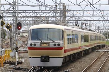 2016年10月29日 13時53分頃、所沢、2番ホームから発車した10105Fの上り臨時列車。