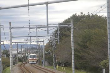 2016年10月29日 14時58分頃、八坂~武蔵大和駅間、10105Fの上り回送列車。