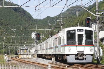 2016年10月27日、武蔵横手、4005F+4007Fの5024レ。