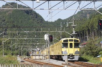 2016年10月27日 11時8分頃、武蔵横手、5091レだった2091Fの戻しの上り回送列車。