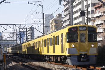 2016年12月21日、高田馬場~下落合、2065F+2407Fの2642レ。