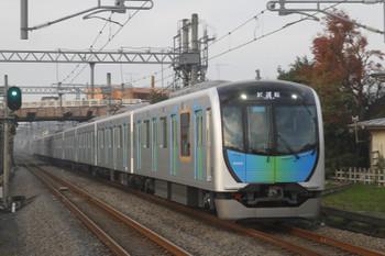2016年11月20日 16時4分、武蔵藤沢、40101Fの上り試運転列車。