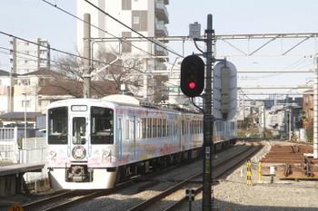 2016年12月18日 13時44分頃、所沢、通過した4009Fの下り臨時列車。