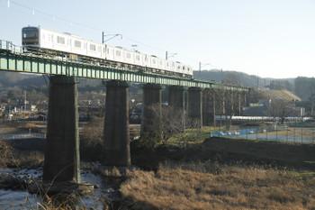 2016年12月29日、金子~東飯能、クハ209-3102?ほか4連の川越ゆき1467E。