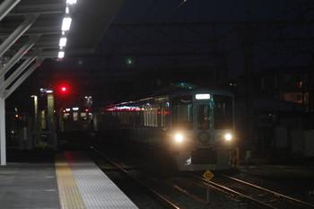 2016年12月25日 17時5分頃、所沢、2番ホームを通過する4009F上り列車。