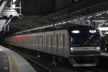 2017年1月2日、所沢、メトロ10006Fが代走の4502レ(14M)。