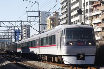 2017年1月10日、高田馬場~下落合、10112Fの120レ。
