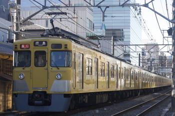 2017年1月11日、高田馬場~下落合、2419F+2001Fの2323レ。