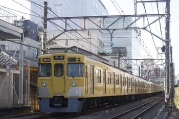 2017年1月18日、高田馬場~下落合、2007F+2409Fの2323レ。