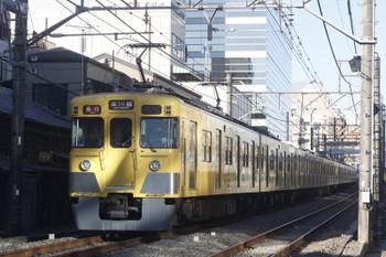 2017年2月7日、高田馬場~下落合、2619レ。