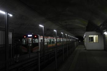 2017年1月9日、土合、発車した1731MのE129系2+2連。