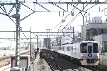 2017年2月26日 11時9分頃、練馬、4009F(52席)の下り列車。