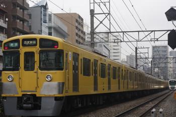 2017年3月2日、高田馬場~下落合、2057F+2411Fの4608レ。
