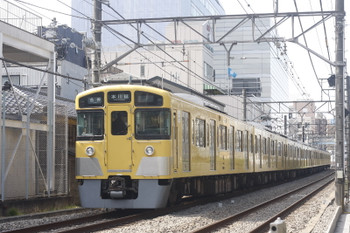 2017年3月7日、高田馬場~下落合、2515F+2517Fの5627レ。
