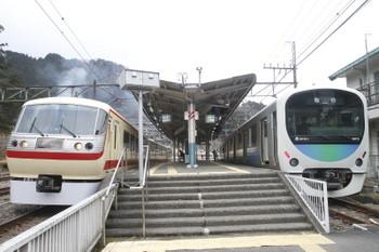 2017年1月29日、吾野、10105Fの20レと38111Fの2本目の下り臨時列車。