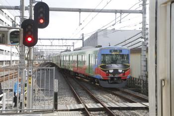 2017年1月29日 11時44分頃、飯能、池袋方へ発車した20158Fの上り回送列車。