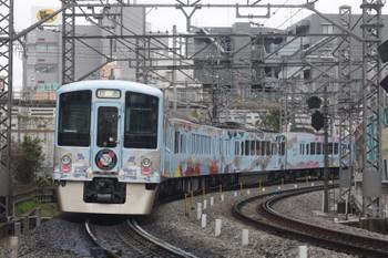 2017年3月15日 12時36分頃、高田馬場~下落合、4009Fの上り回送列車。