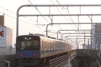 2017年3月20日 6時11分頃、練馬、通過した20152Fの上り回送列車。