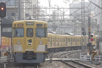 2017年3月29日、高田馬場~下落合、2007F+2407Fの2312レ。
