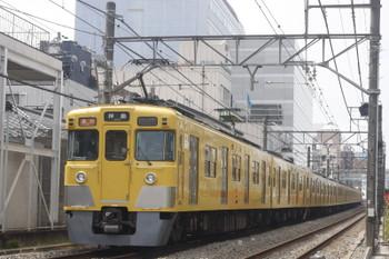 2017年3月29日、高田馬場~下落合、2403F+2001Fの2321レ。