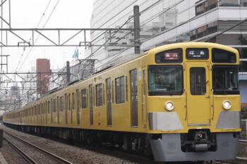 2017年3月31日、高田馬場~下落合、2531F+2509F+2419Fの2323レ。
