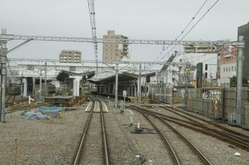 2017年2月18日、東村山、駅の南側。