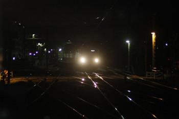 2017年2月24日 18時9分頃、萩山、電留線から3番ホームへ入る1257F。