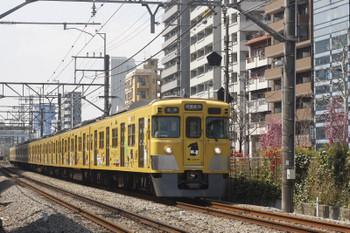 2017年4月3日、高田馬場~下落合、2007Fの5822レ。