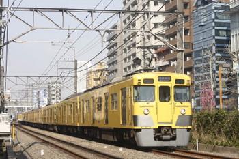 2017年4月5日、高田馬場~下落合、2419F+2509F+2531Fの2754レ。