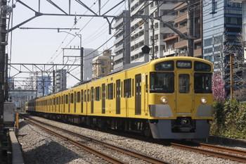 2017年4月5日、高田馬場~下落合、2061Fの5822レ。