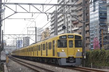 2017年4月6日、高田馬場~下落合、2061Fの5128レ。