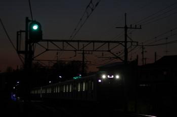2017年4月15日 18時48分頃、元加治、4010Fの上り回送列車。