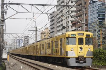 2017年4月17日、高田馬場~下落合、2007F+2451Fの4608レ。