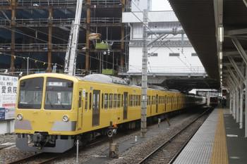 2017年4月8日、所沢、6番線でまだ寝ている263F+1241F。