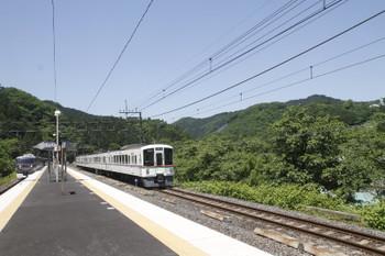 2017年5月20日 10時34分頃、芦ヶ久保、10103Fの22レと折り返す4023Fの下り回送列車。