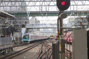 2017年3月12日 9時21分頃、池袋、40101Fの上り回送列車。