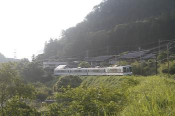 2017年6月20日 5時50分頃、白久、4019Fの下り回送列車。
