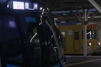 2017年5月15日、所沢、40101Fの506レ(手前)と2001Fの新宿線5831レ。
