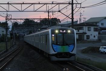 2017年5月21日 18時48分頃、元加治、40101Fの上り回送列車。403レの飯能からの戻し。