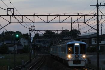 2017年5月21日 18時54分頃、元加治、4009F(52席)の上り列車。