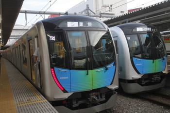 2017年5月21日、所沢、403レの40101Fと404レの40102F。