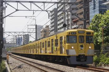 2017年5月22日、高田馬場~下落合、2007Fの5822レ。