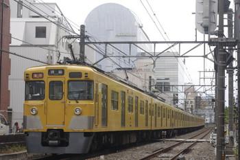 2017年5月24日、高田馬場~下落合、2403F+2055Fの2321レ。
