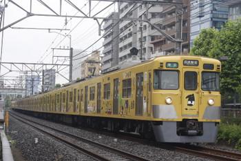 2017年5月25日、高田馬場~下落合、2007F+2417Fの4608レ。