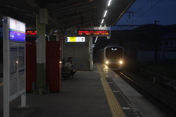 2017年5月25日 18時50分頃、元加治、通過する30103Fの下り回送列車。