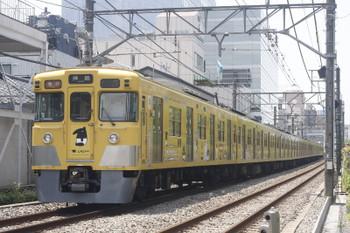 2017年5月30日、高田馬場~下落合、2007F+2455F?の2321レ。
