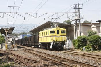 2017年6月20日 9時39分ころ、大野原、デキ502牽引の貨物列車 7104レが通過。