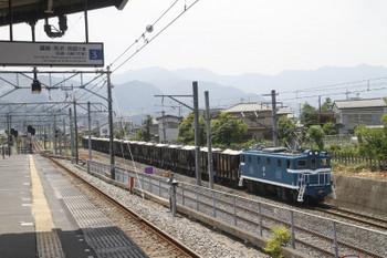 2017年6月20日 11時37分ころ、御花畑〜影森、デキ302牽引の7304レ。