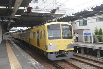 2017年6月25日、萩山、3番ホームから国分寺へ向かう263Fの6052レ。