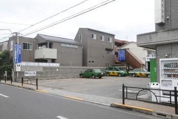 2017年7月2日、都立家政駅と中村橋駅の間にあったタクシー会社。